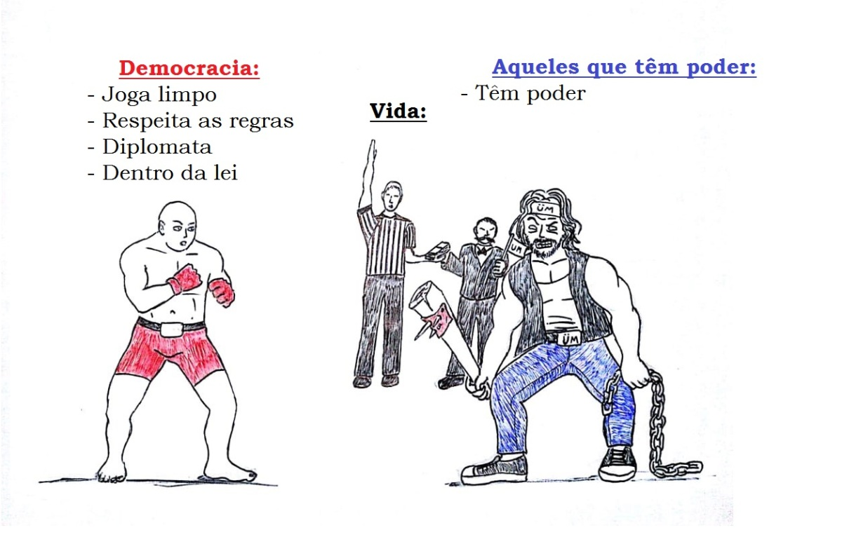 Democracia vs. Realidade